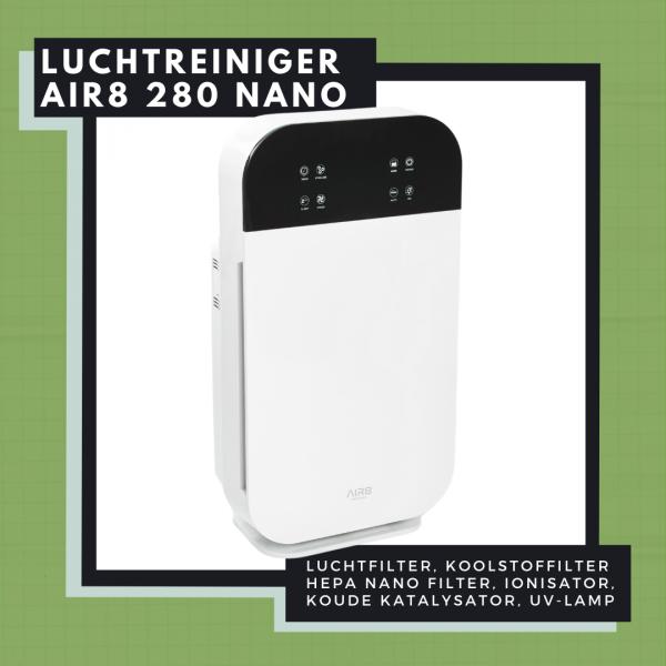 Mobiele luchtreiniger AIR 280 Nano