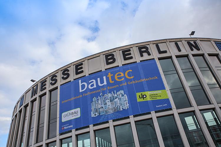 Entree Bautec 2020 Messe Berlin