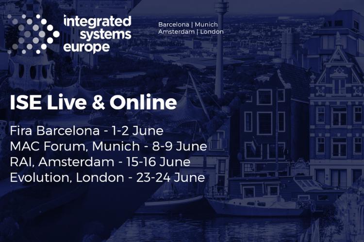 ISE Live & Online tourschema