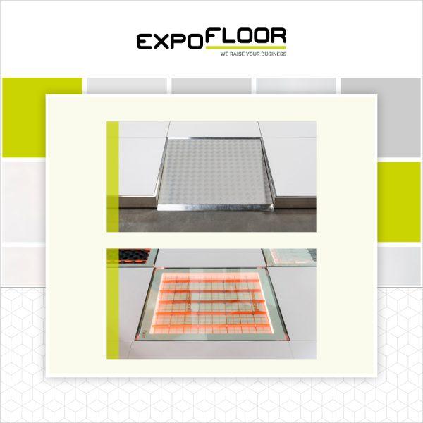 Expo Floor Mindervaliden opgang