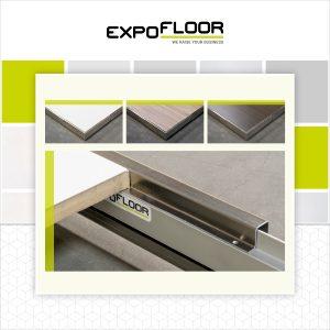 Expo Floor Close Up Plintafwerking