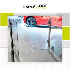 Expo Floor glasdeur