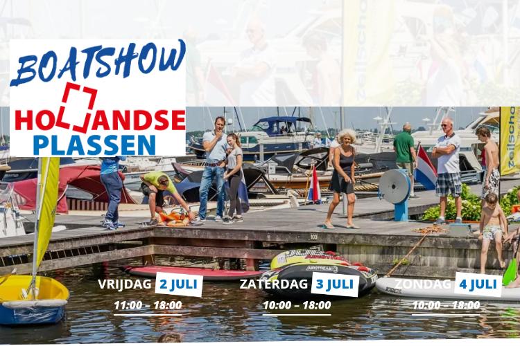 Boatshow Hollandse Plassen visual