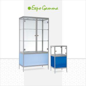 vitrine ice blue & deep blue